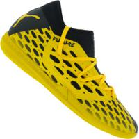 Chuteira Futsal Puma Future 5.3 Netfit It Bdp - Adulto - Amarelo/Preto