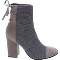 Ankle Boots Strech Double Black | Schutz