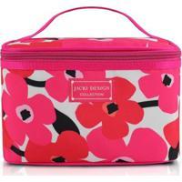 Necessaire Frasqueira Jacki Design Poliéster - Feminino-Pink