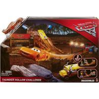Pista De Percurso - Histórias - Thunder Hollow Challenge - Carros 3 - Disney - Mattel - Masculino-Incolor