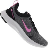 Tênis Nike Flex Experience Rn 8 - Feminino - Cinza/Rosa