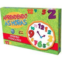 Jogo Aprendendo As Horas Pais E Filhos Multicolorido