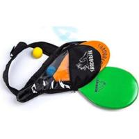 Kit Frescobol Sandbreak 2 Raquetes + 1 Bolinha Com Case - Unissex