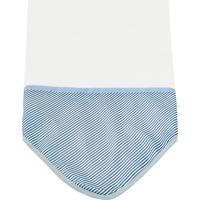 Manta Enxoval De Malha Padroeira Baby Fusquinha Azul - Branco - Menino - Dafiti