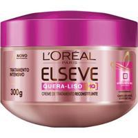 Creme De Tratamento L'Oréal Paris Elseve Quera-Liso Mq 230°C Creme De Tratamento 300Ml - Unissex-Incolor