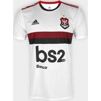 Camisa Flamengo Ii 19/20 S/Nº Torcedor C/ Patrocínio Adidas Masculina - Masculino
