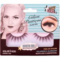 Cílios Postiços Glam Girl 3D That Girl 1 Par - Feminino-Incolor