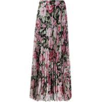 P.A.R.O.S.H. Long Pleated Skirt - Rosa