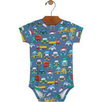 Body Carros- Azul & Amareloup Baby - Up Kids