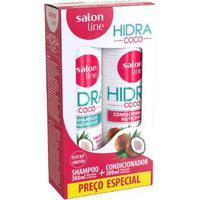 Kit 1 Shampoo Hidra Coco - 300Ml 1 Condicionador Hidra Coco - 300Ml - Unissex-Incolor