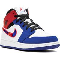 Jordan Air Jordan 1 Mid Se Low-Top Sneakers - Branco