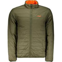 Jaqueta Fila Thermal Double Dupla Face - Masculino-Verde
