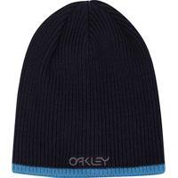 Gorro Oakley Factory Flip Beanie Masculino - Masculino-Azul