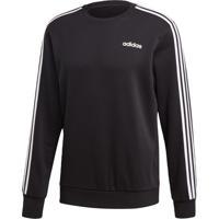 Blusão Adidas E 3S Crew Ft Preto