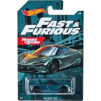 Carrinho Hot Wheels Velozes Mclaren 720S - Mattel