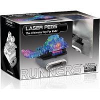 Blocos De Montar Laser Pegs Tanque De Guerra 8 Em1 Branco