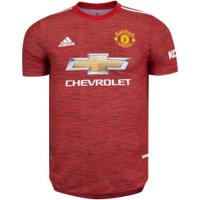 Camisa Manchester United I 20/21 Adidas - Masculina - Vermelho