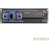 Auto Rádio Mp3 Player - Multilaser - New One Com Entrada Usb/Sd/Mmc/Auxiliar - Cada (Unidade) - P3318