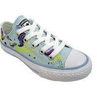 Tenis All Star Converse Unicons Chuck Taylor Infantil - Unissex-Azul Claro
