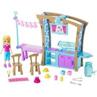 Boneca Polly Pocket Churrasco Divertido Com Acessórios Mattel - Feminino-Rosa