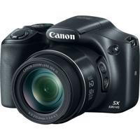 "Câmera Digital Canon Powershot 16Mp Lcd 3.0"" Sx530 Hs Preto"