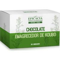 Chocolate Emagrecedor De Koubo 100Mg - 30 Unidades