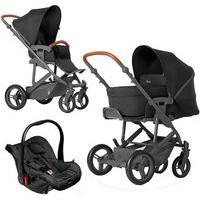 Carrinho De Bebê Abc Design Travel System Merano Woven Black + Moisés