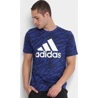 Netshoes  Camiseta Adidas Ess Aop Masculina - Masculino f48a478c5fb22