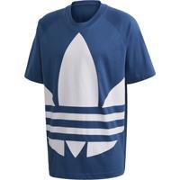 Camisetas Adidas Bg Trefoil Azul