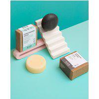 Amaro Feminino B.O.B. Kit Shampoo Em Barra Detox & Condicionador Em Barra Hidratação Suave, Neutra