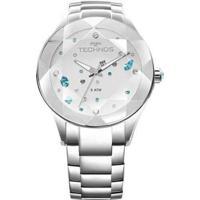 Relógio Technos 2039Avdtm/1K Feminino - Feminino-Prata