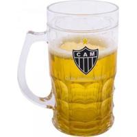 Caneca Cerveja 400Ml Atlético Mineiro - Unissex-Incolor