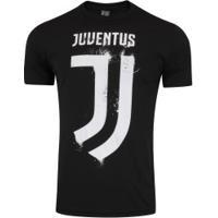 Camiseta Juventus Clube - Masculina - Preto