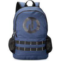 Mochila Bolsa Escolar Clio Style 2 Cores Disponíveis Azul
