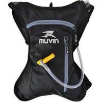 Mochila De Hidratação Cross Lock Muvin 2 Litros - Unissex