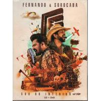 Fernando E Sorocaba Sou Do Interior Ao Vivo - Cd+Dvd Sertanejo