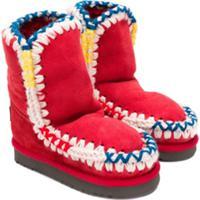 Mou Kids Mueski Boots - Vermelho