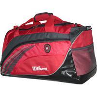 Bolsa Esportiva- Vermelha & Cinza- 53X20X33Cm- Wwilson