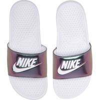Chinelo Slide Nike Banassi Branco