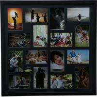 Painel Collection Para 16 Fotos 10X15 - Woodart - Preto