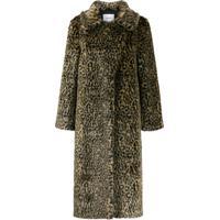Dondup Fantasy Fur Coat - Neutro