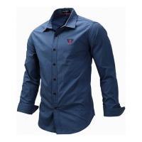 Camisa Social Monterrey - Azul