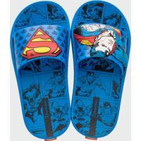 Chinelo Infantil Slide Super Homem Ipanema 26289