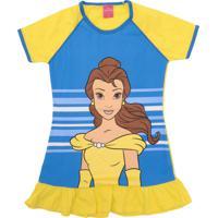 Camisola Lupo Bela E A Fera Amarela/Azul