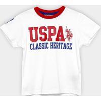 Camiseta Infantil U.S.Polo Assn Masculina - Masculino