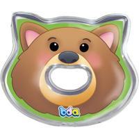 Mordedor Com Água - Turma Da Floresta - Urso - Toyster - Unissex-Incolor
