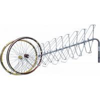 Suporte De Parede Altmayer Al-71 Para Exposição De Rodas De Bicicleta Cinza