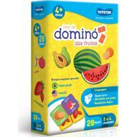 Jogo - Dominó Das Frutas - Toyster