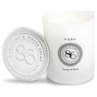 Vela Perfumada Figo & Rosa 240G - Branco