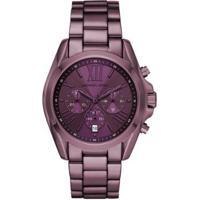 Relógio Michael Kors Bradshaw Mk6721/1Nn Feminino - Feminino-Roxo